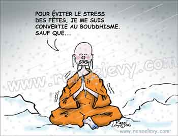 Post du mois d'août... Bouddhisme